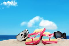 Vacation on beach Royalty Free Stock Image