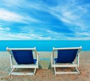 Vacation at beach Stock Image
