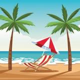 Vacation on the beach family. Vacation on the beach avatar cartoons vector illustration graphic design vector illustration