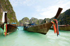 Vacation Boats Royalty Free Stock Images