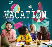 Vacation Break Holiday Summer Off Concept Royalty Free Stock Photography