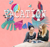 Vacation Break Holiday Summer Off Concept Royalty Free Stock Image