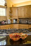 Vacation cabin kitchen Royalty Free Stock Images