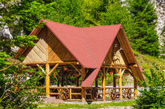 Vacation cabin Stock Photography