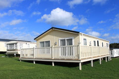 Vacation caravan park Royalty Free Stock Photo