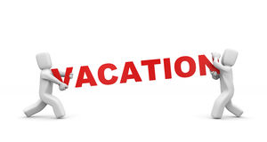Vacation is comming Stock Photography
