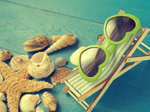 Vacation concept background Stock Images
