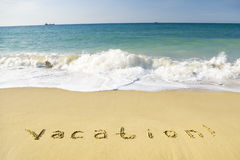 Vacation concept Royalty Free Stock Photos