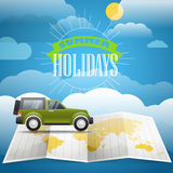 Vacation concept. Summer holidays Royalty Free Stock Photo