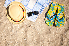 Vacation concept for summer Royalty Free Stock Photography