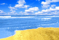 Vacation conceptual image. Picture of tropical sea Royalty Free Stock Images