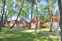 Vacation cottages for rent Stock Photography