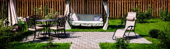 Vacation in a country house. Summer Vacation in a country house Stock Images