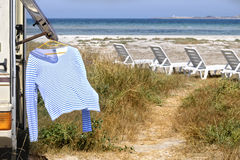 Vacation in Crimea Royalty Free Stock Photography