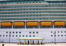 Vacation On A Cruise Liner Stock Images