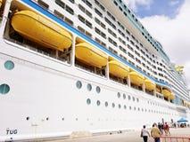 Vacation. Cruise ship vacation Royalty Free Stock Photos