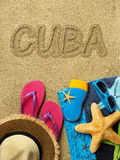 Vacation in Cuba Royalty Free Stock Photo