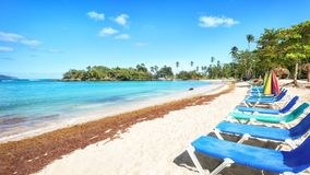Vacation in Dominican Republic royalty free stock images