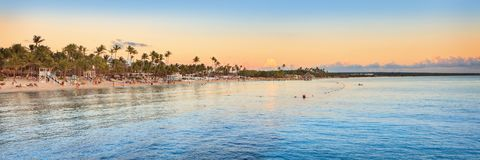 Vacation in Dominican Republic royalty free stock photo