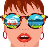 Vacation dream Royalty Free Stock Photo