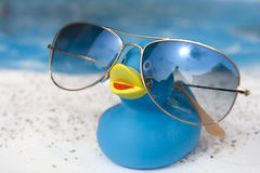 Vacation duck Royalty Free Stock Photography