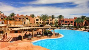 Vacation in Egypt Stock Photography