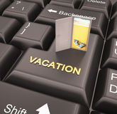 Vacation enter key Stock Photos