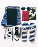 Vacation essentials. Royalty Free Stock Photo