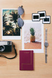 Vacation essentials. Royalty Free Stock Images