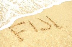 Vacation in fiji on the beach Stock Photos