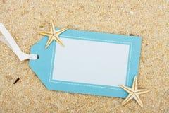 Vacation Gift Tag Stock Photo