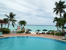 Vacation in Guam Royalty Free Stock Images
