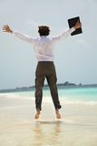 Vacation happiness Royalty Free Stock Image