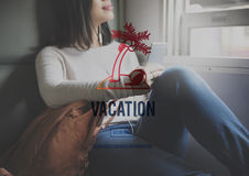 Vacation Holiday Relaxation Time Travel Concept Royalty Free Stock Image