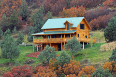 Vacation home. A vacation home in colorado Royalty Free Stock Image