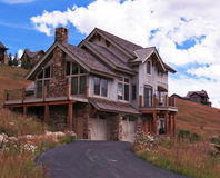 Vacation Home. In Crested Butte Colorado Royalty Free Stock Image