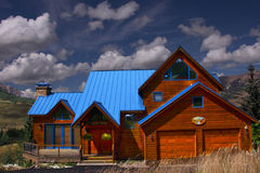 Vacation Home. In Crested Butte Colorado Royalty Free Stock Photography