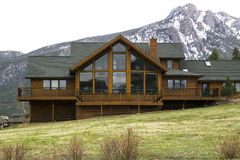 Vacation home. Near Rocky Mountain National Park Royalty Free Stock Images