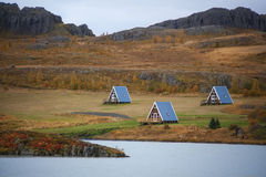 Vacation Homes - Fellabaer - Iceland Stock Photo