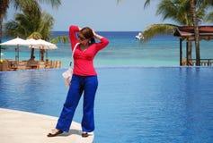 Vacation in Honduras Royalty Free Stock Photography