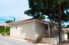 Vacation house. New vacation house in the south of France Royalty Free Stock Photography