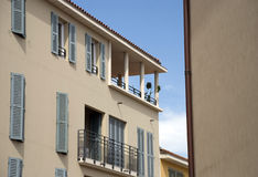 Vacation houses in Fr�jus. On the cote d azur Royalty Free Stock Image