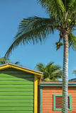 Vacation huts Stock Photo