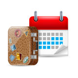Vacation icon Stock Images