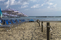 Vacation. Image of beach at summer Stock Images