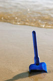 Vacation Image of Child's Toy on Beach Royalty Free Stock Image