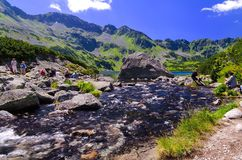 Vacation In Polish Mountains Stock Images
