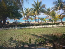 Vacation. In Labonite, Haiti Royalty Free Stock Photos