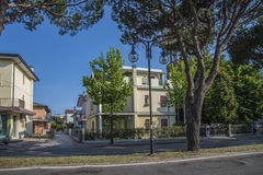 On vacation in Lido di Jesolo (around the town) Royalty Free Stock Photo