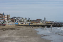 On vacation in Lido di Jesolo (on the beach) Royalty Free Stock Photos